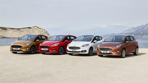 Lộ diện những hình anh đầu tiên của Ford Fiesta thế hệ mới