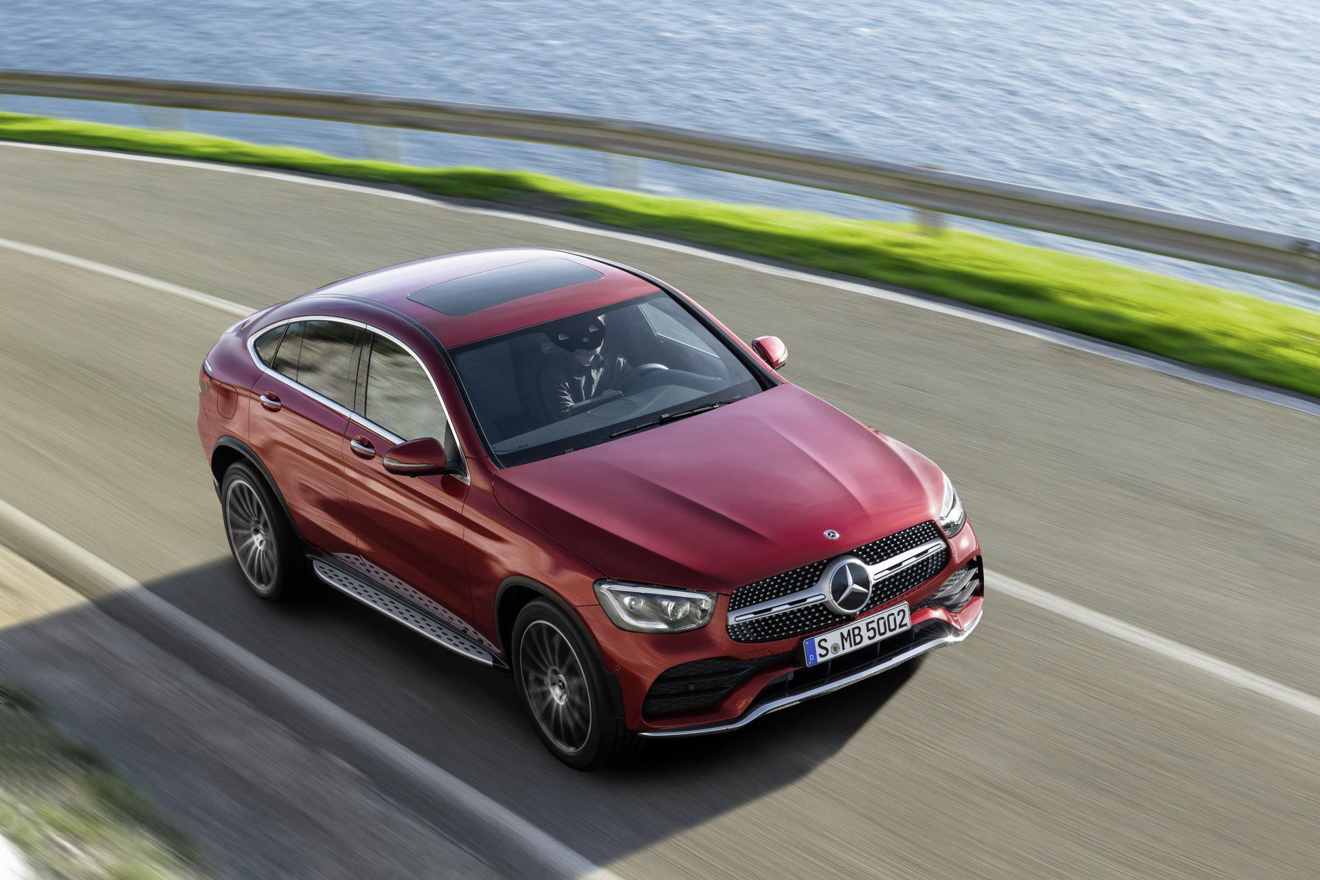 Ra mắt Mercedes-Benz GLC Coupe 2020 - Đối trọng của BMW X4 sắp bán tại Việt Nam