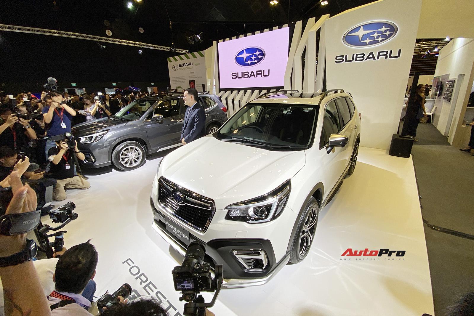 Ra mắt Subaru Forester 2020: Về Việt Nam ngay sau Tết, thêm công nghệ đấu Mazda CX-5