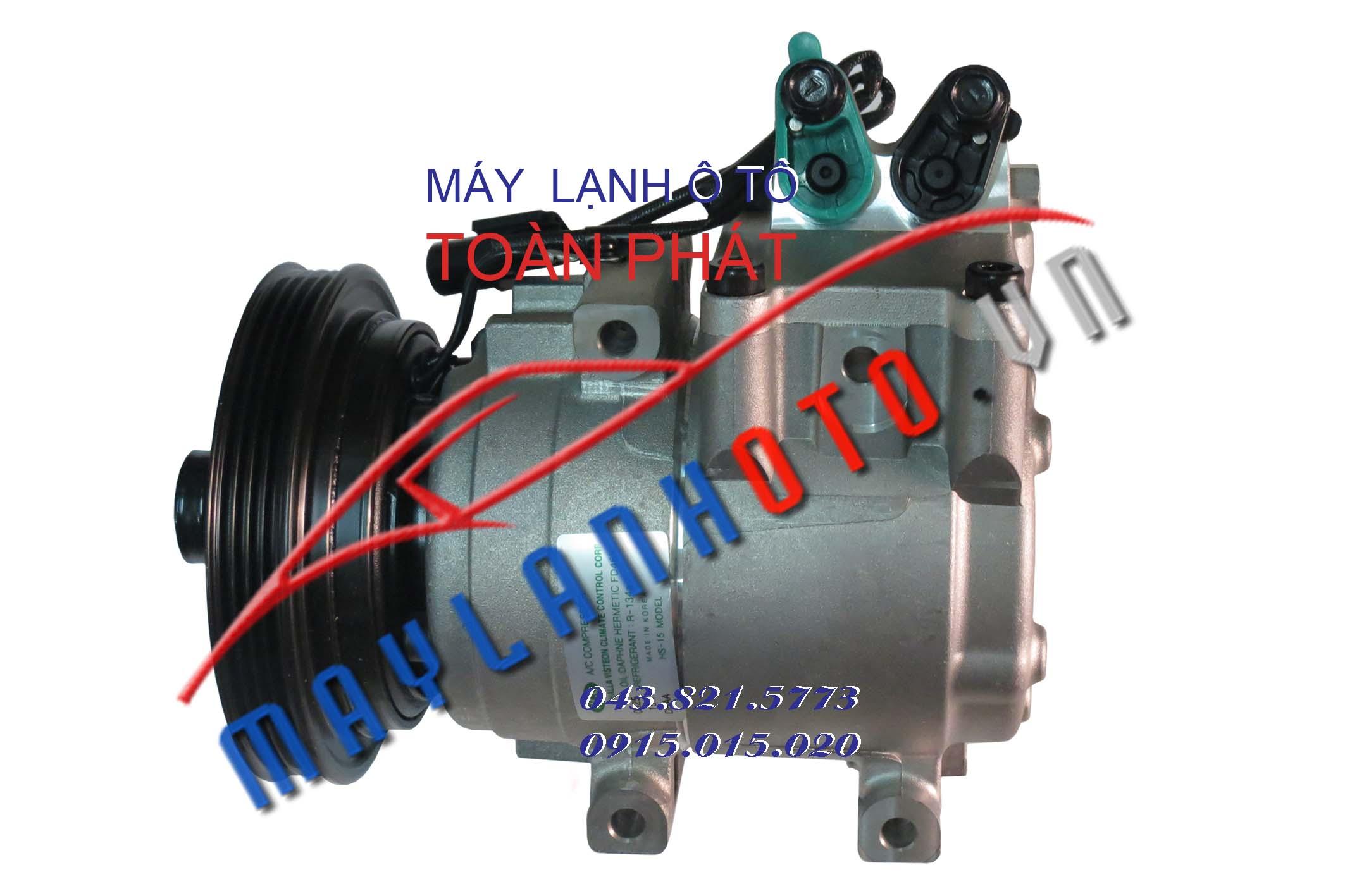 Porter 2 4PK / Lốc lạnh điều hòa Hyundai Porter 2  / Máy nén khí điều hòa Hyundai Porter 2