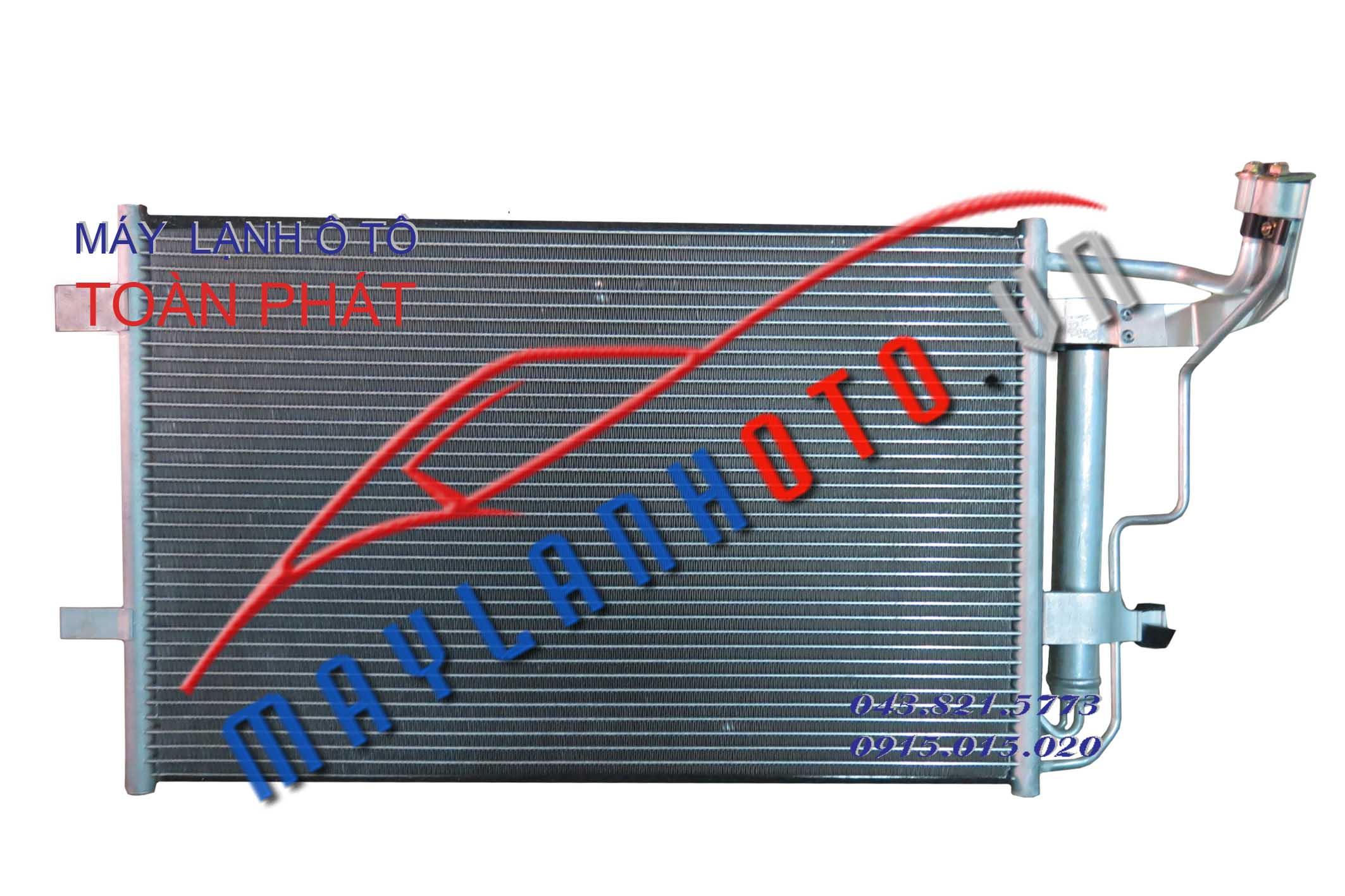 3 - 2010/ Giàn nóng điều hòa Mazda 3-2010 / Dàn nóng điều hòa Mazda 3-2010