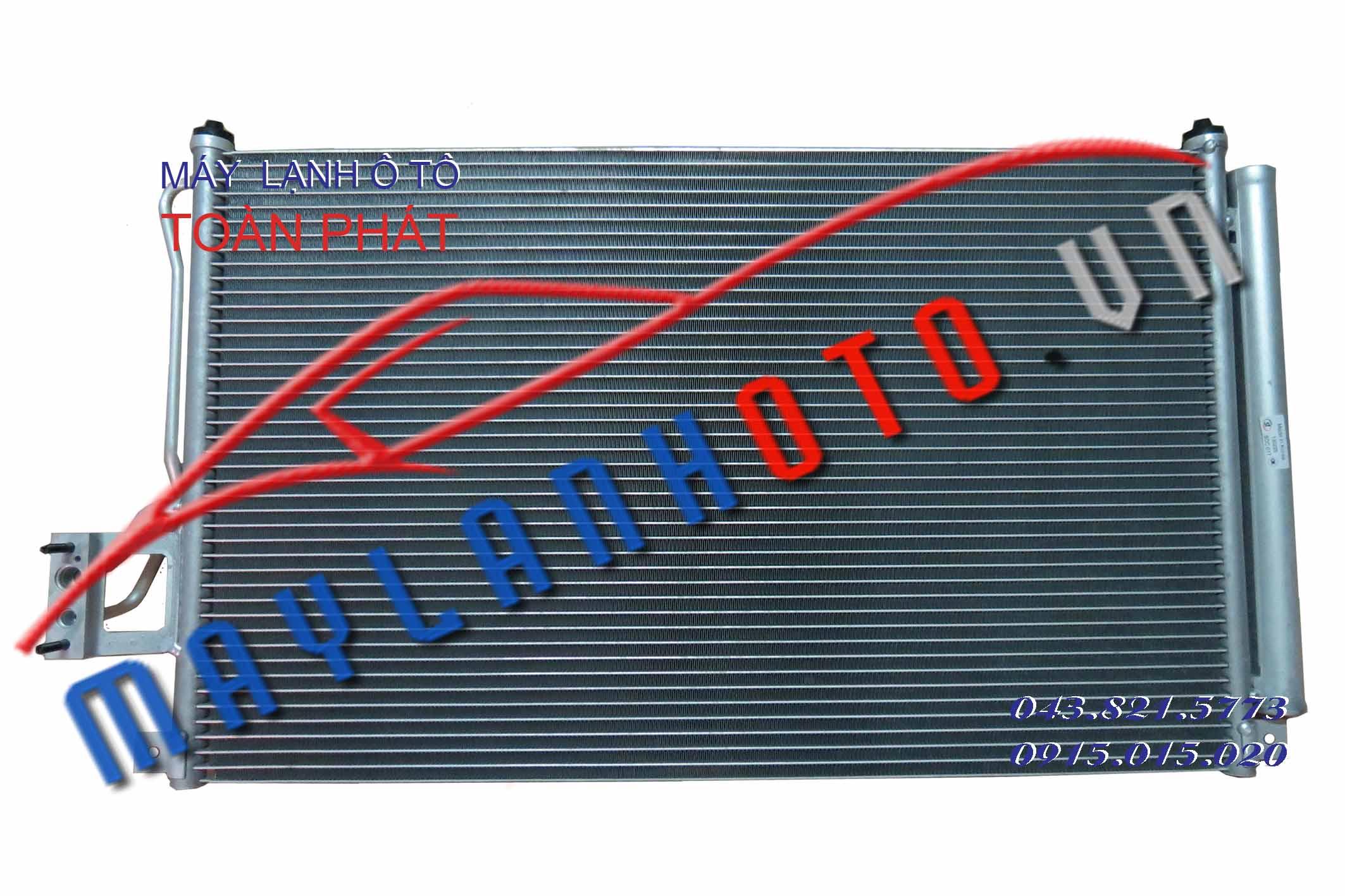 SantaFe New 2008 / Giàn nóng điều hòa Hyundai SantaFe New / Dàn nóng điều hòa Hyundai SantaFe New