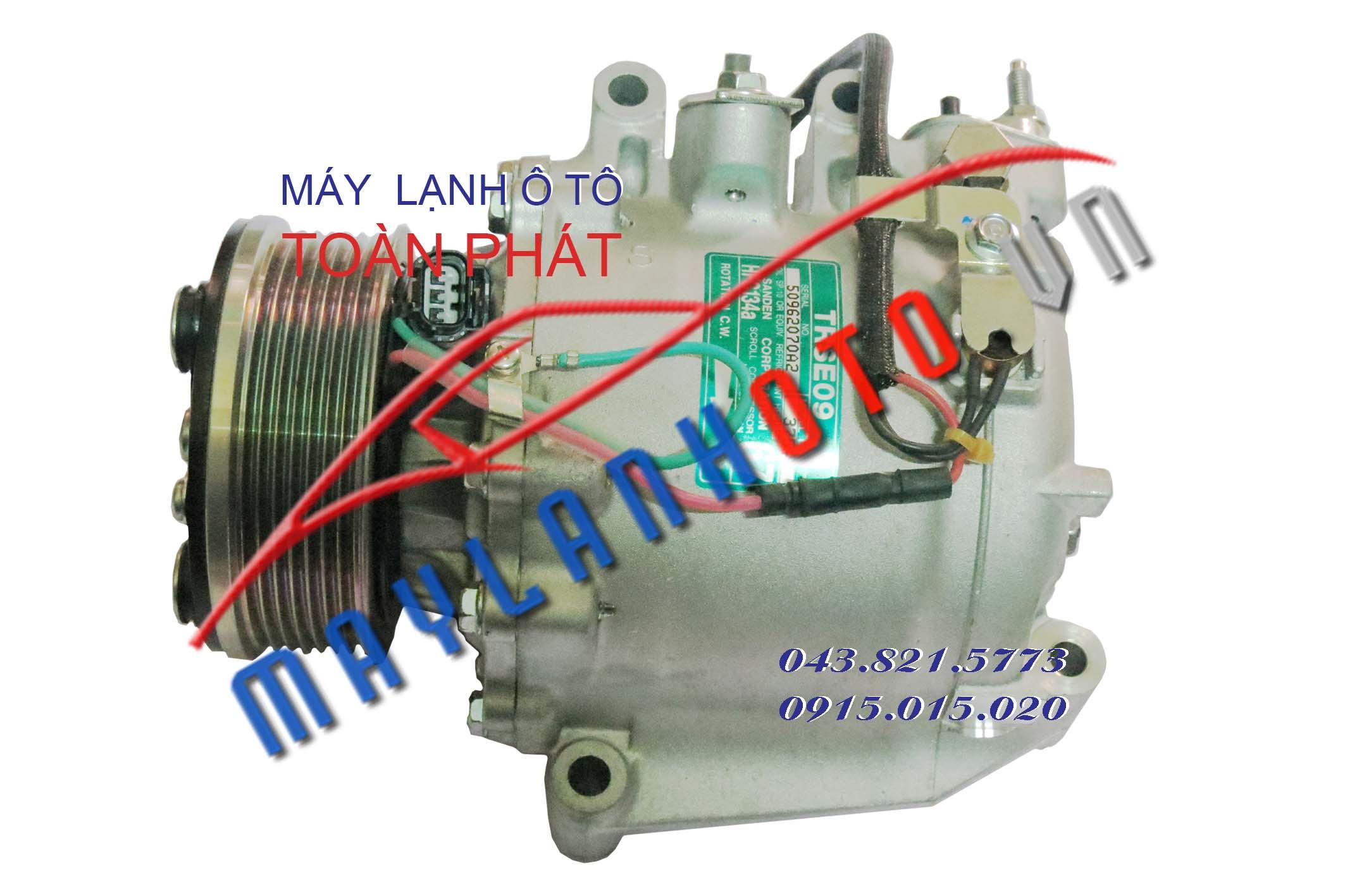 CRV / Lốc lạnh điều hòa Honda CRV / Máy nén khí điều hòa Honda CRV