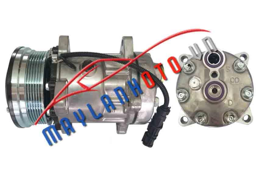 Howo A7 6PK / Máy nén khí điều hòa Howo A7 6PK / Lốc lạnh điều hòa Howo A7 6PK