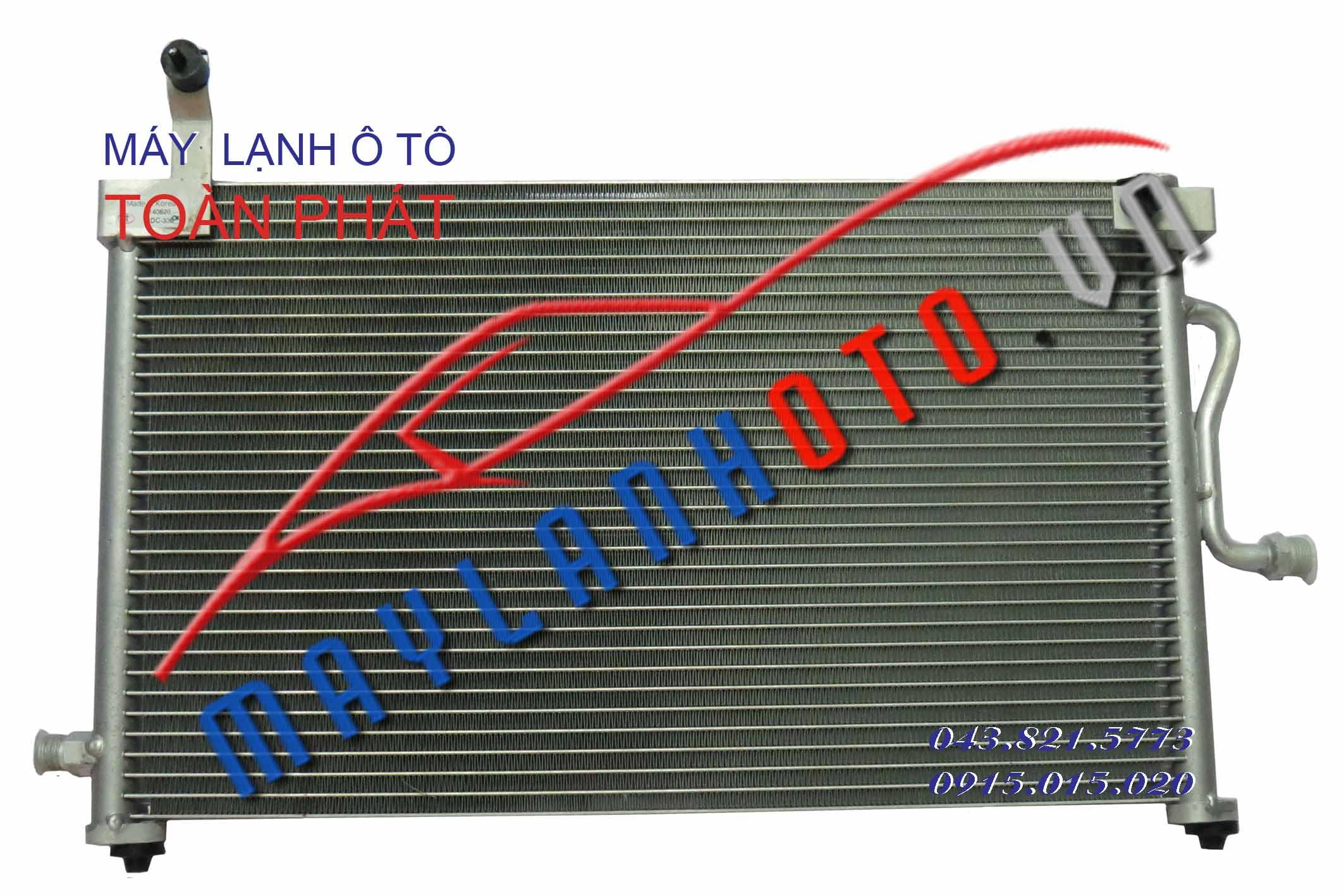 Matiz II / Giàn nóng điều hòa Daewoo Matiz 2 / Dàn nóng điều hòa Daewoo Matiz 2