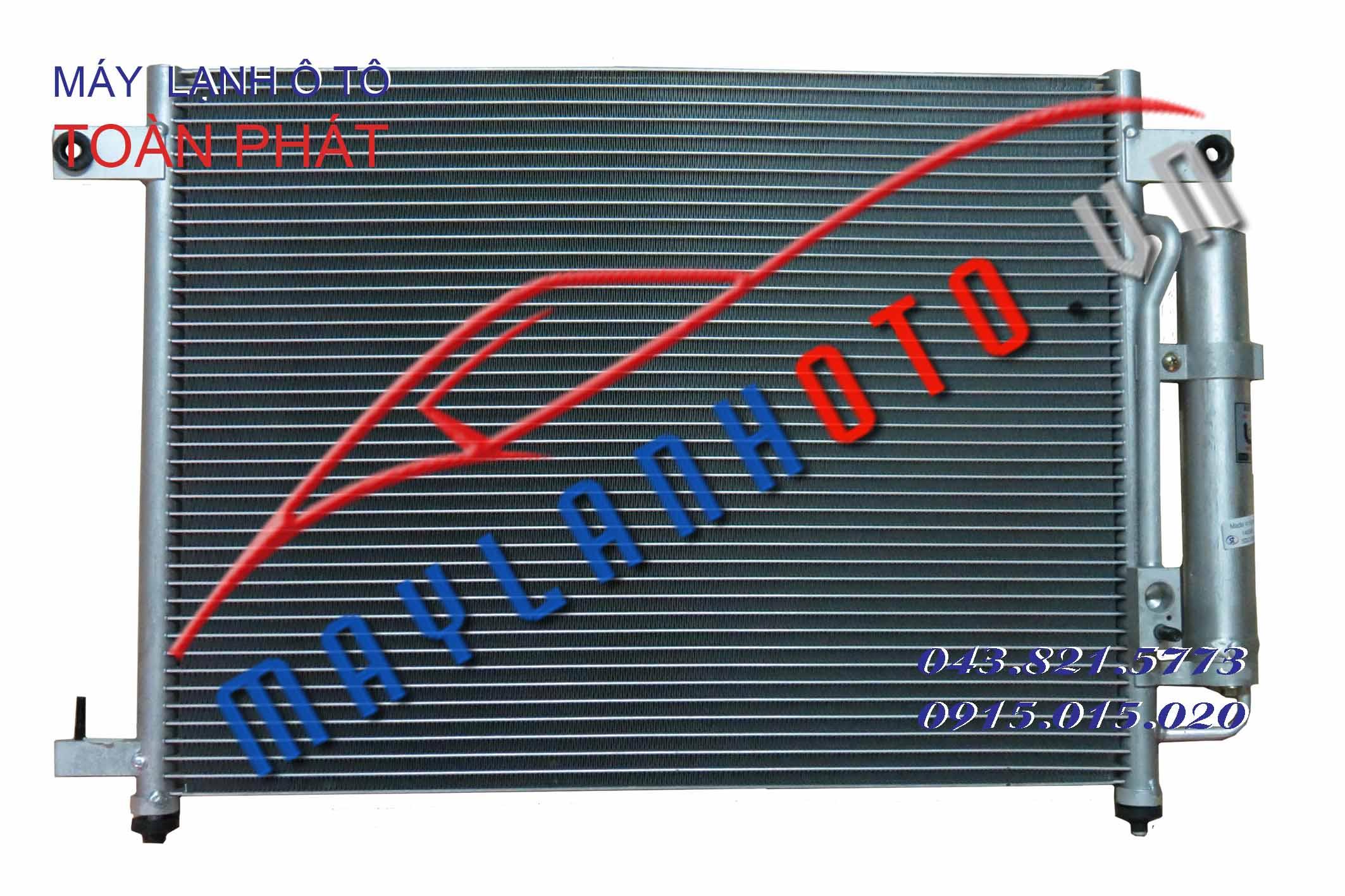 Gentra 1.2 / Giàn nóng điều hòa Daewoo Gentra 1.2 / Dàn nóng điều hòa Daewoo Gentra 1.2
