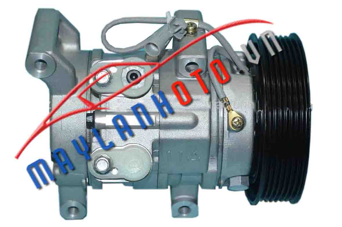 Hilux 2008 máy dầu / Máy nén khí Toyota Hilux 2008 máy dầu/ Lốc lạnh điều hòa Toyota Hilux 2008 máy dầu