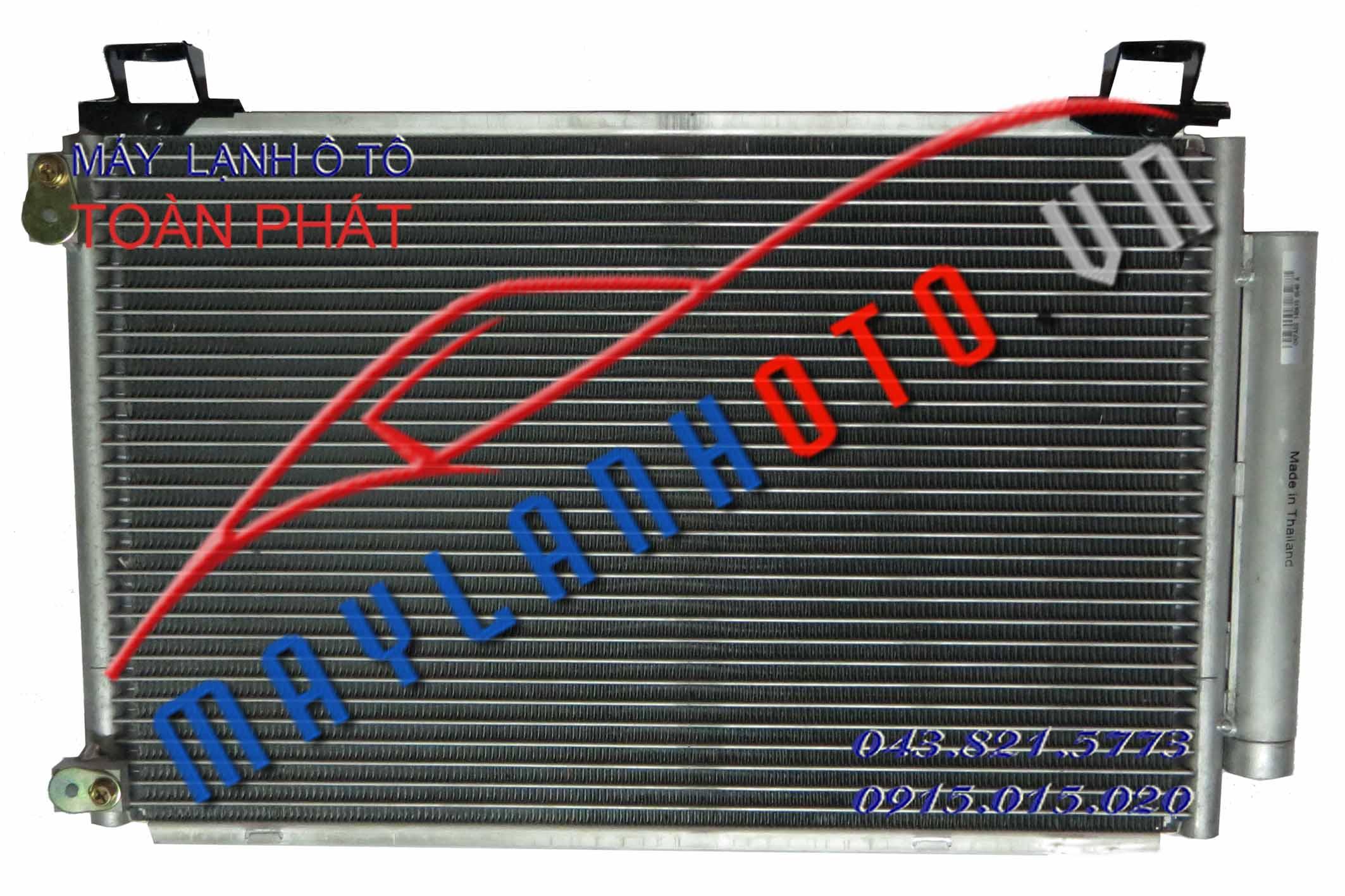 Vios 2005 / Giàn nóng điều hòa Toyota Vios 2005