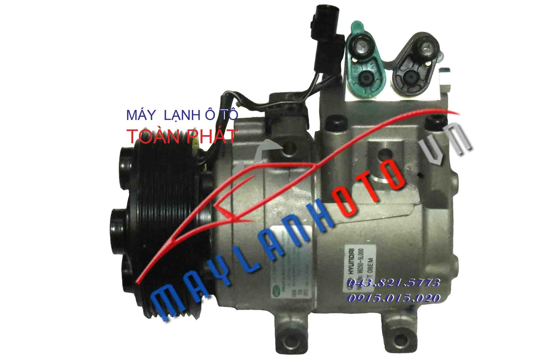 Porter II (Buli 8PK)/ Lốc lạnh điều hòa Hyundai Porter 2