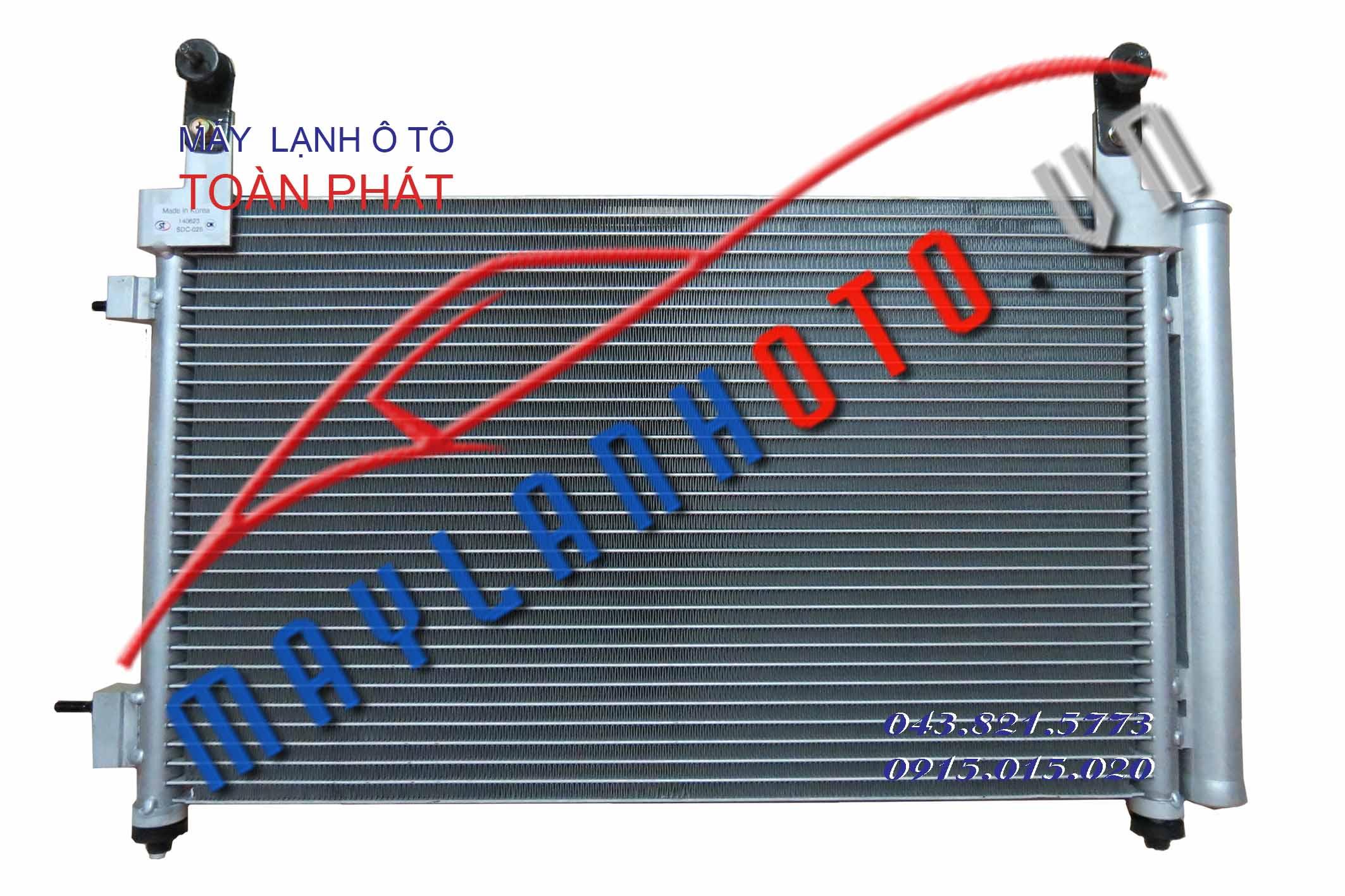 Matiz III - Chevrolet Spark / Giàn nóng điều hòa Daewoo Matiz 3 / Dàn nóng điều hòa Daewoo Matiz 3