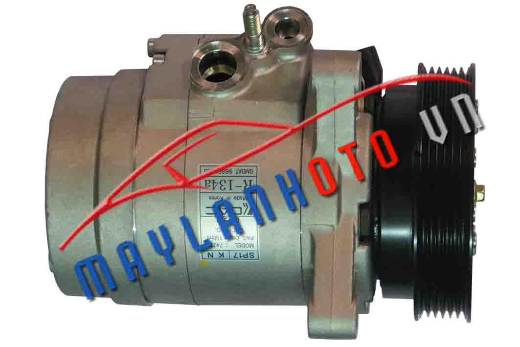 Captiva máy xăng  / Máy nén khí điều hòa Daewoo Captiva máy xăng/ Lốc lạnh điều hòa Chevrolet Captiva máy xăng
