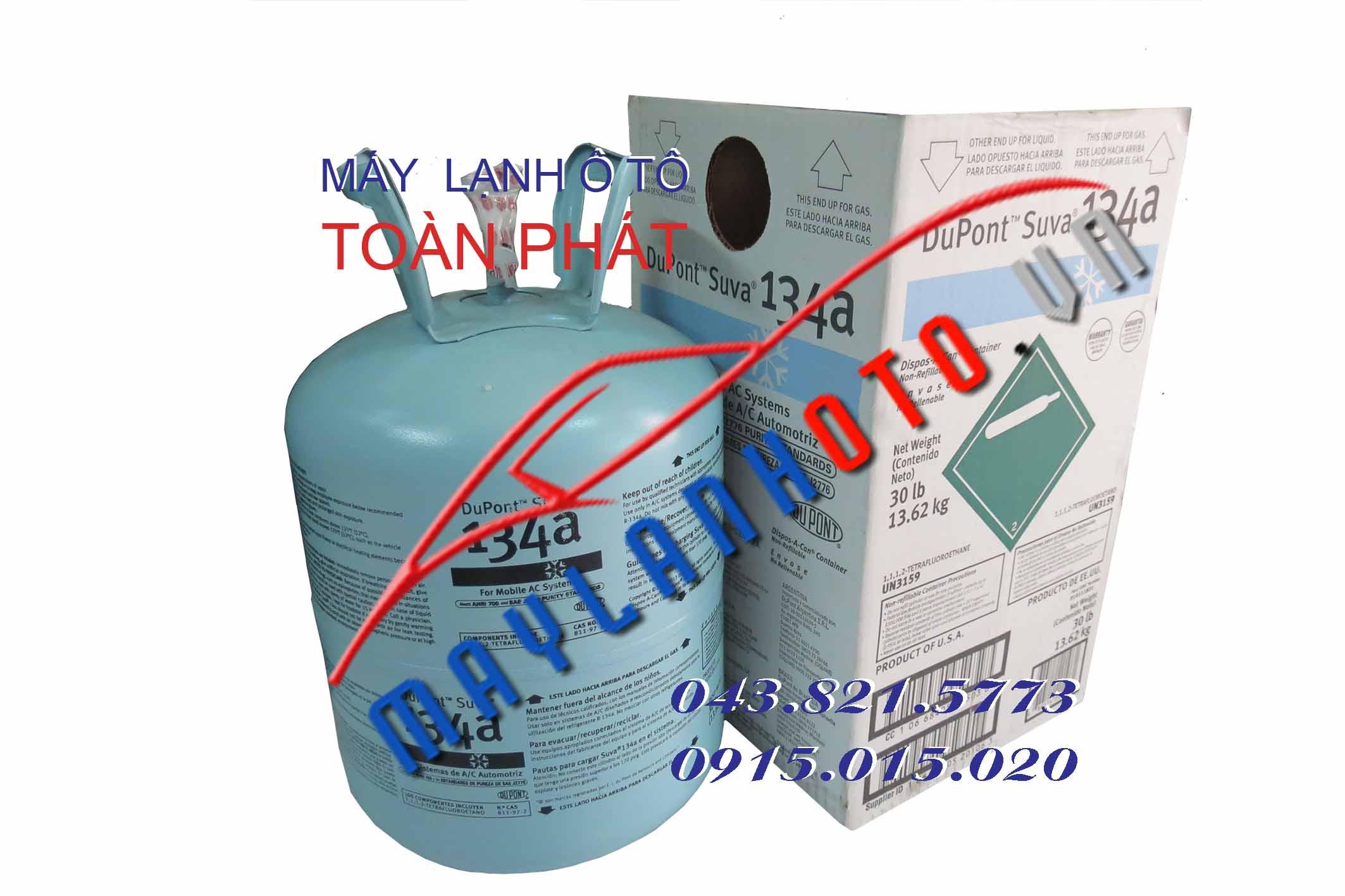 Gas 134 Dupont Suva