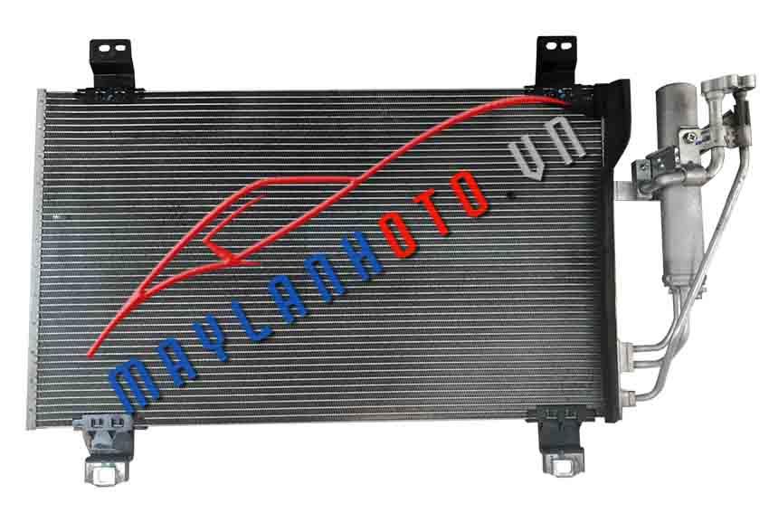 2 - 2014 / Dàn nóng điều hòa Mazda 2-2014/ Giàn nóng điều hòa Mazda 2-2014