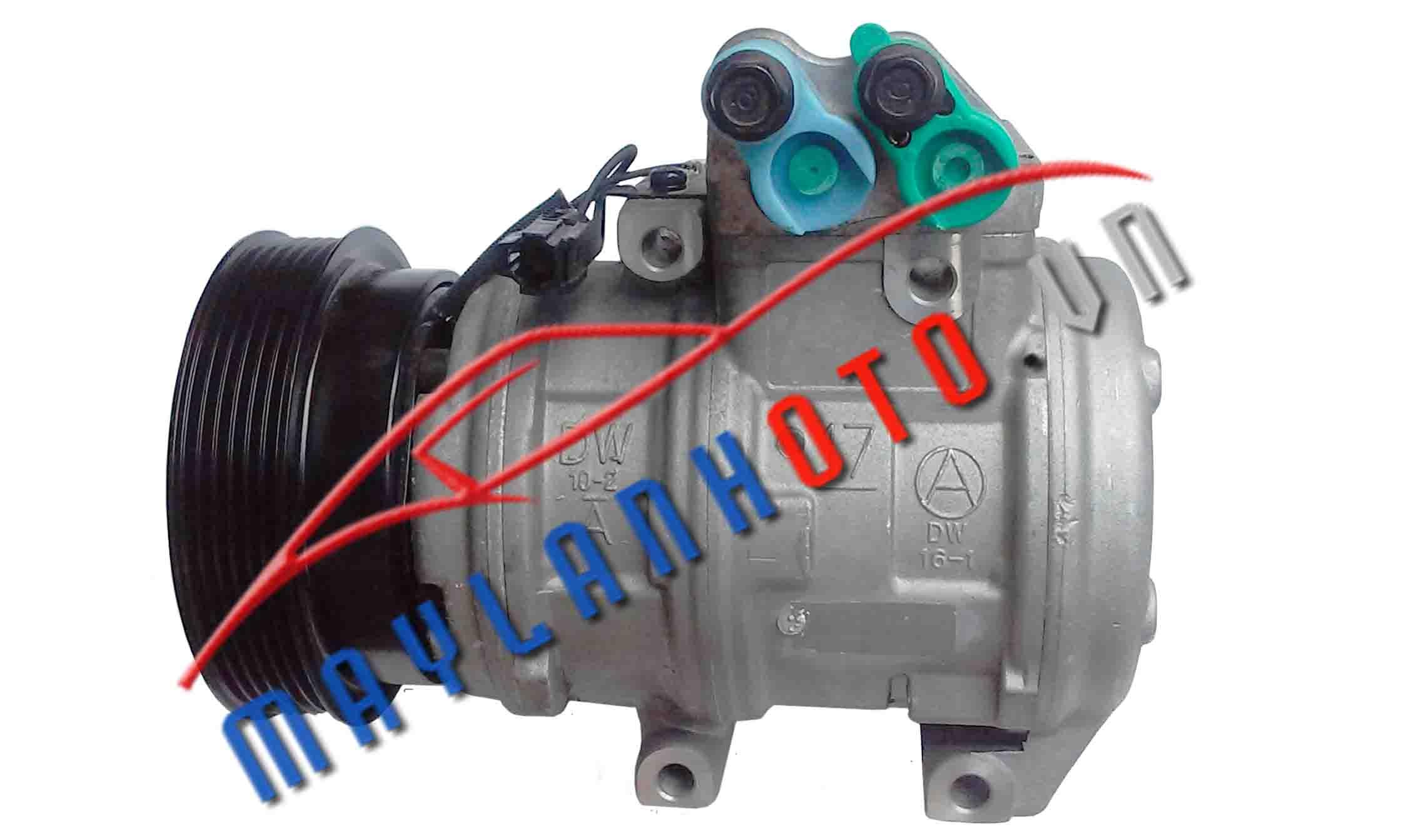 Carens máy xăng / Lốc lạnh điều hòa Kia Carens máy xăng / Máy nén khí điều hòa Kia Carens máy xăng