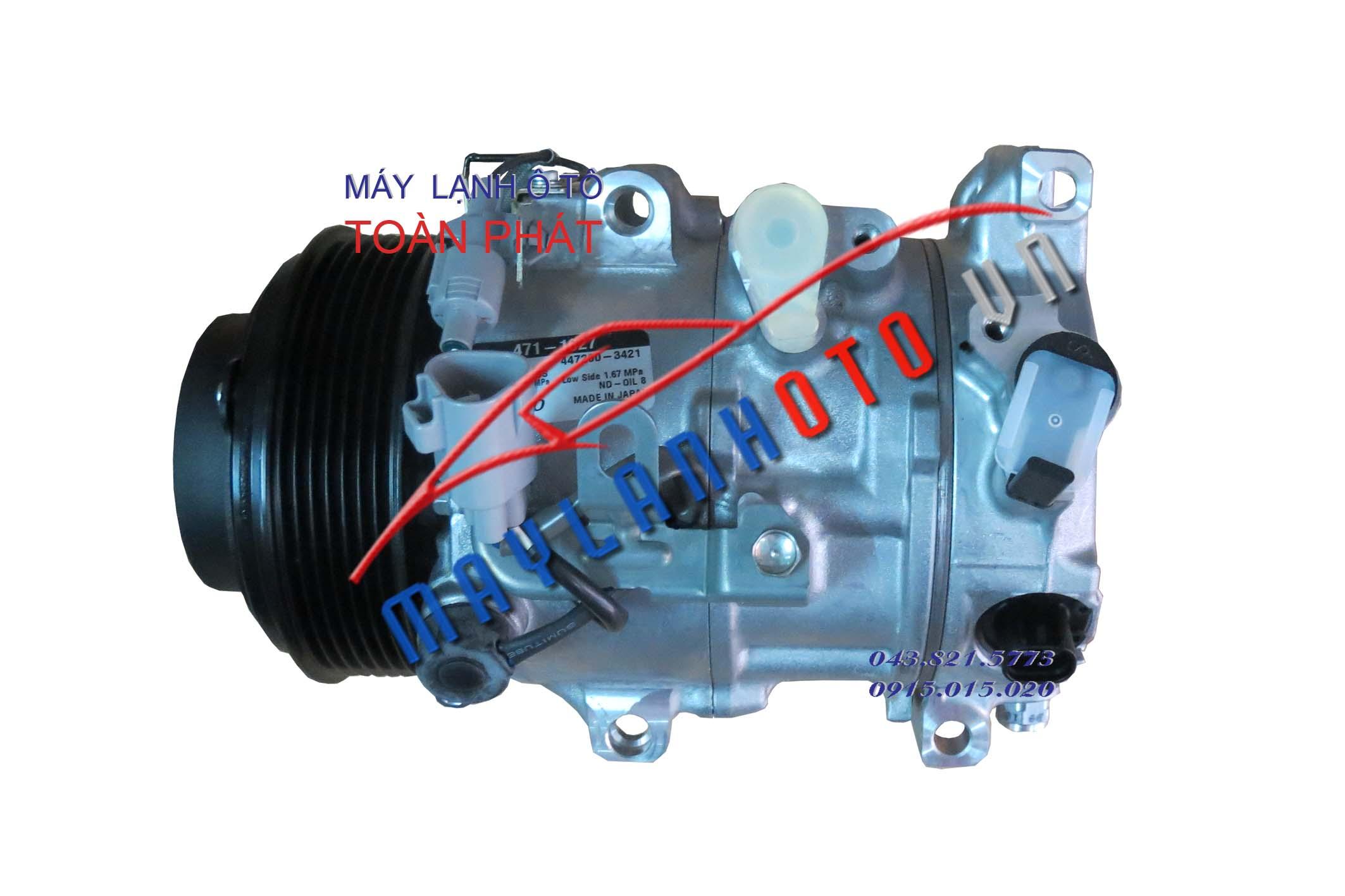 Camry 3.5 / Lốc lạnh điều hòa Toyota Camry 3.5