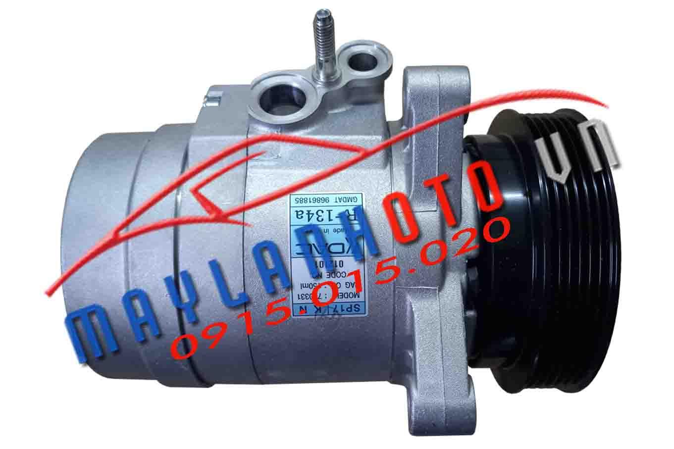Captiva máy xăng / Lốc lạnh điều hòa Chevrolet Captiva máy xăng / Máy nén khí Chevrolet Captiva máy xăng