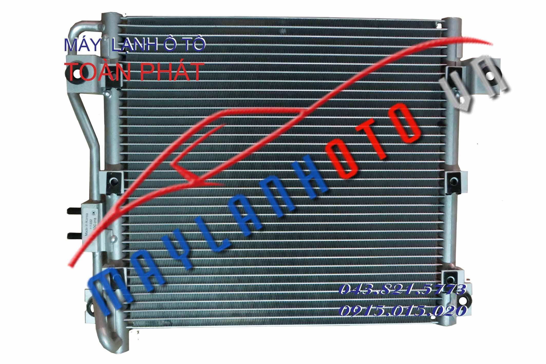 Starex (giàn phụ) / Giàn nóng điều hòa Hyundai Starex / Dàn nóng điều hòa Hyundai Starex