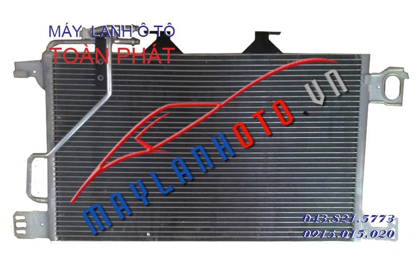 C180 phin rời / Giàn nóng điều hòa Mercedes C180 / Dàn nóng điều hòa Mercedes C180