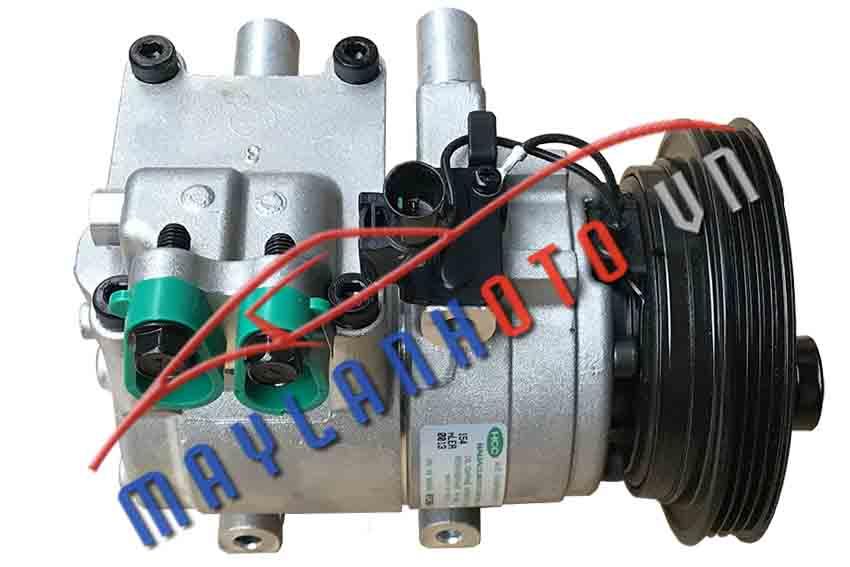 Getz 1.4 (Thân HS15) / Máy nén khí điều hòa Hyundai Getz 1.4 / Lốc lạnh điều hòa Hyundai Getz 1.4