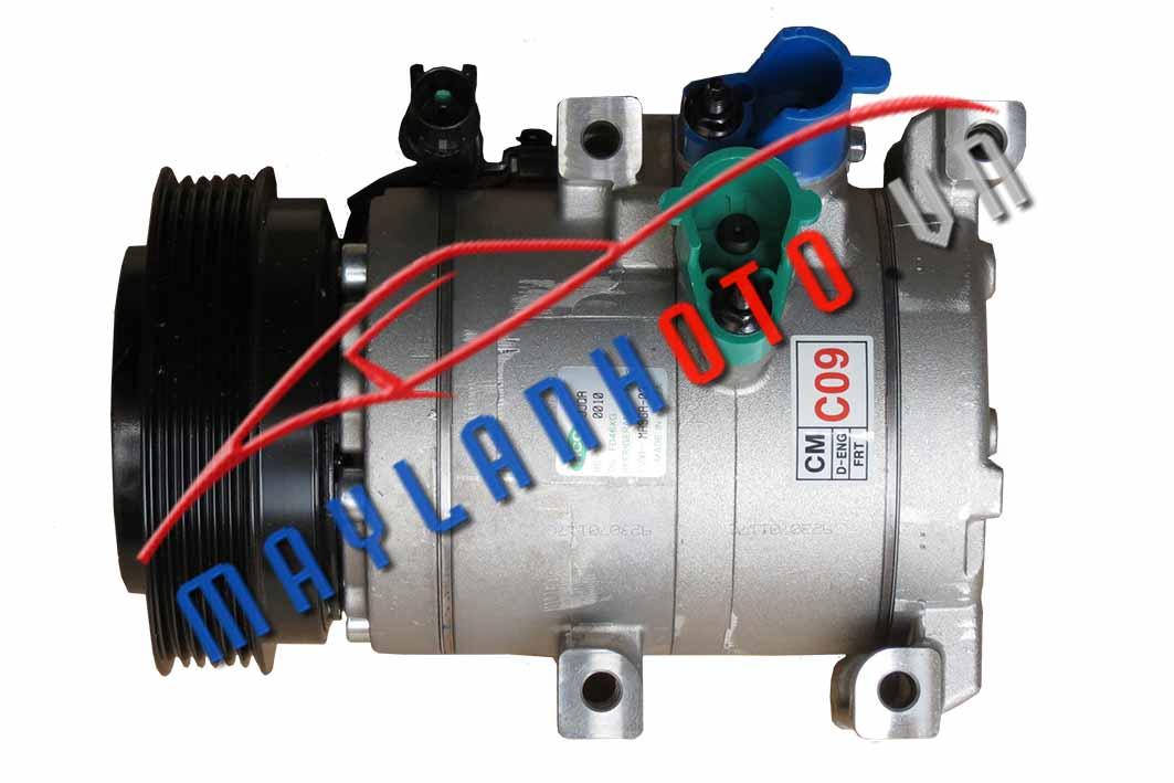 SantaFe MLX 2010  / Máy nén khí điều hòa Hyundai Santafe MLX 2010/ Lốc lạnh điều hòa Hyundai SantaFe MLX 2010