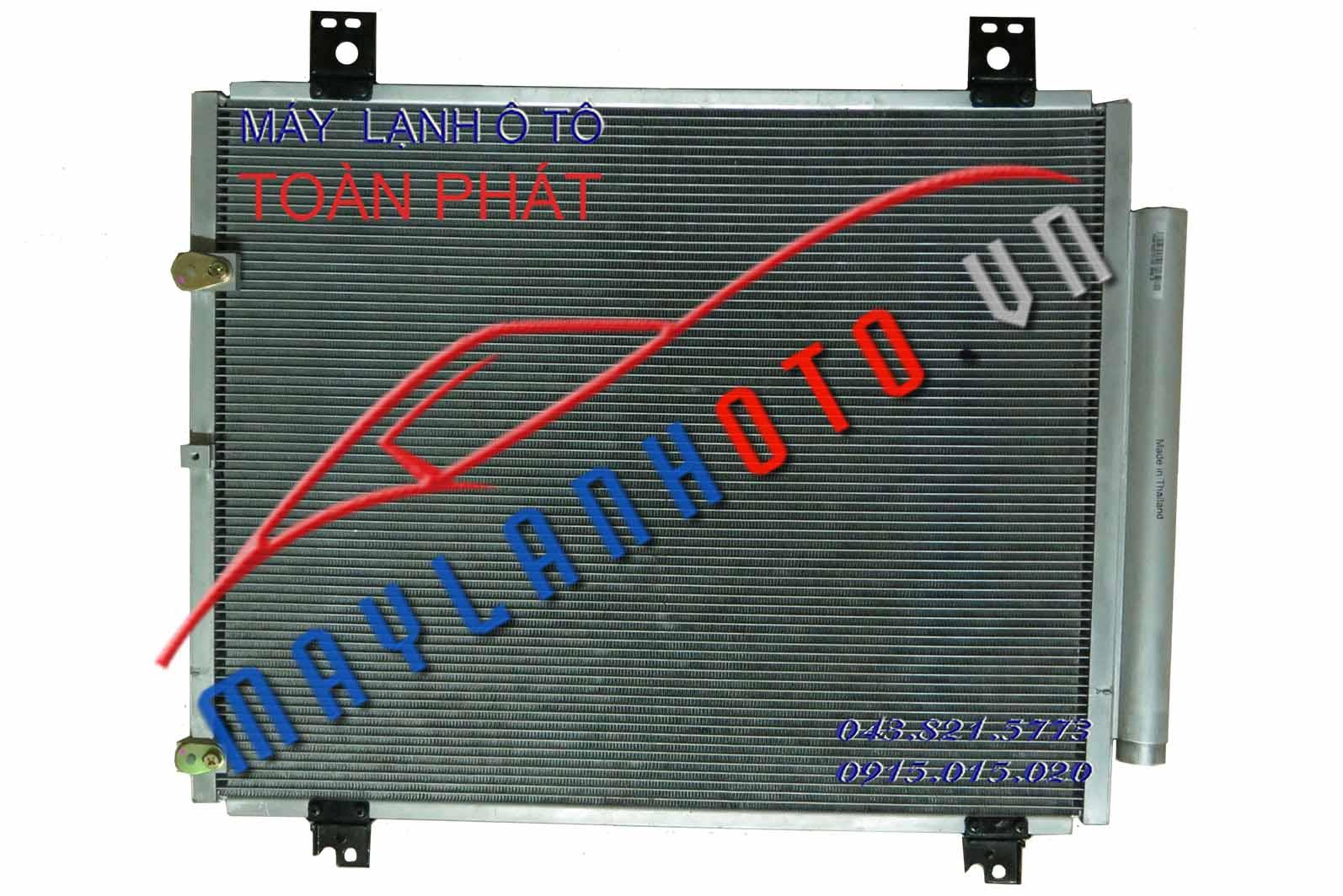 Hiace 2007 / Giàn nóng điều hòa Toyota Hiace 2007