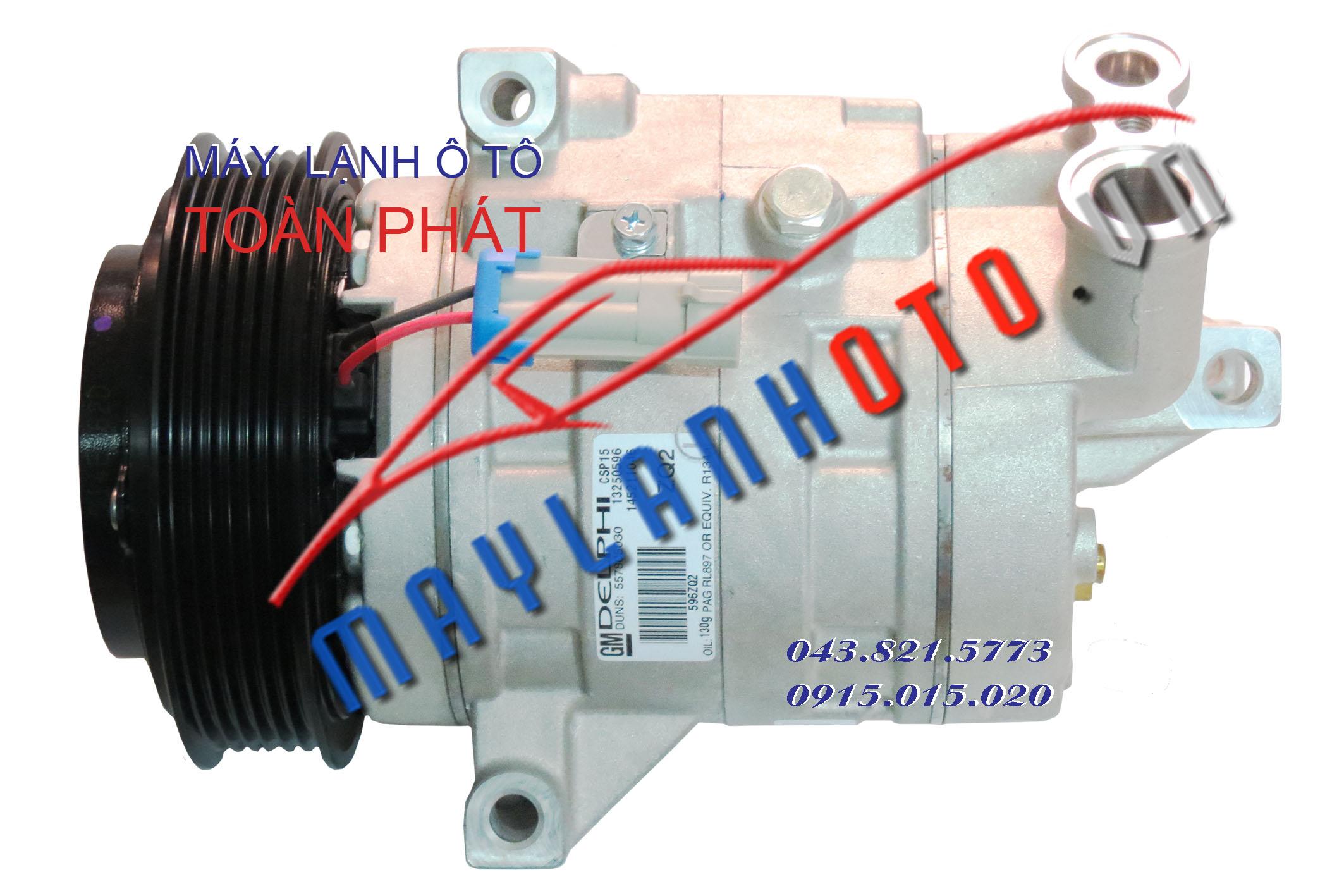 Lacetti CDX - Chevrolet Cruze / Lốc lạnh điều hòa Daewoo Lacetti CDX - Chevrolet Cruze / Máy nén khí điều hòa Daewoo Lacetti CDX - Chevrolet Cruze
