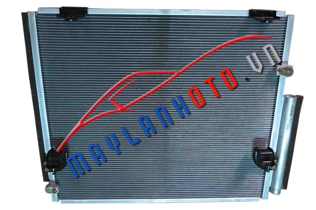 Fortuner (máy xăng) / Giàn nóng điều hòa Toyota Fortuner/ Dàn nóng điều hòa Toyota Fortuner