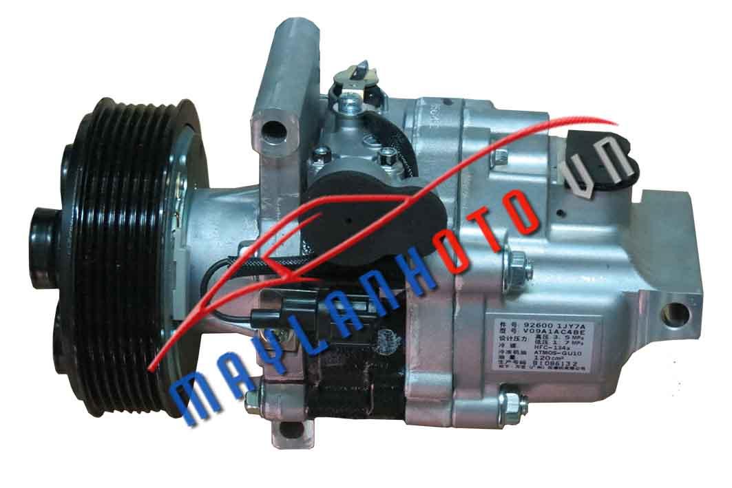 Tiida / Máy nén khí Nissan Tiida/ Lốc lạnh điều hòa Nissan Tiida