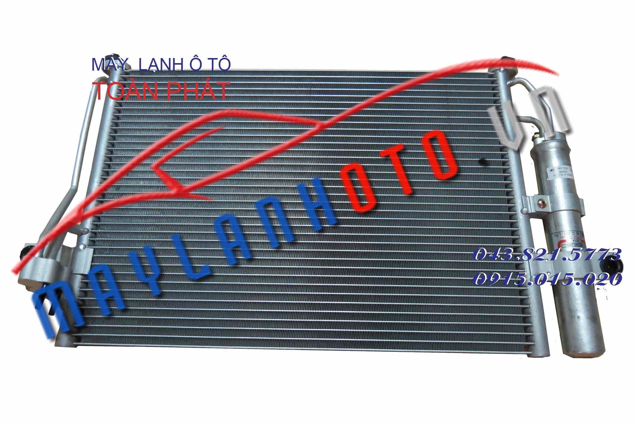 Getz (phin rời) / Giàn nóng điều hòa Hyundai Getz / Dàn nóng điều hòa Hyundai Getz