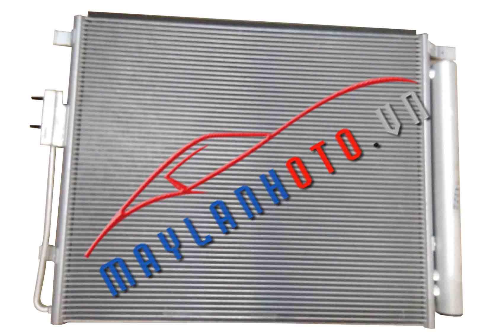 SantaFe 2013 / Dàn nóng điều hòa Hyundai SantaFe 2013/ Giàn nóng điều hòa Hyundai SantaFe 2013