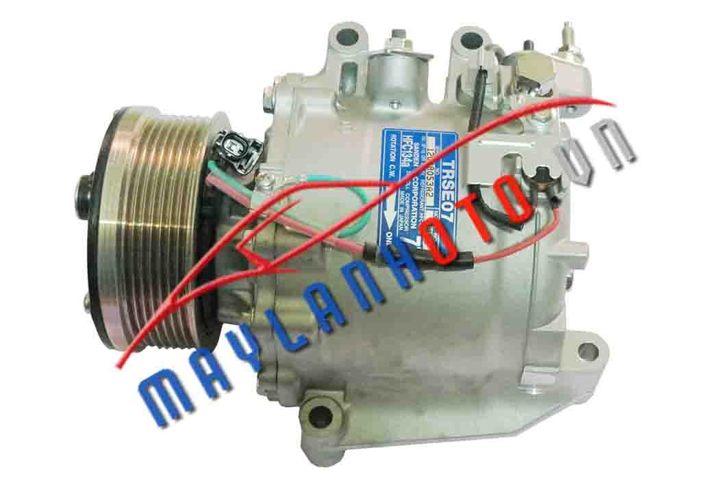 Civic 1.8  / Máy nén khí điều hòa Honda Civic 1.8/ Lốc lạnh điều hòa Honda Civic 1.8