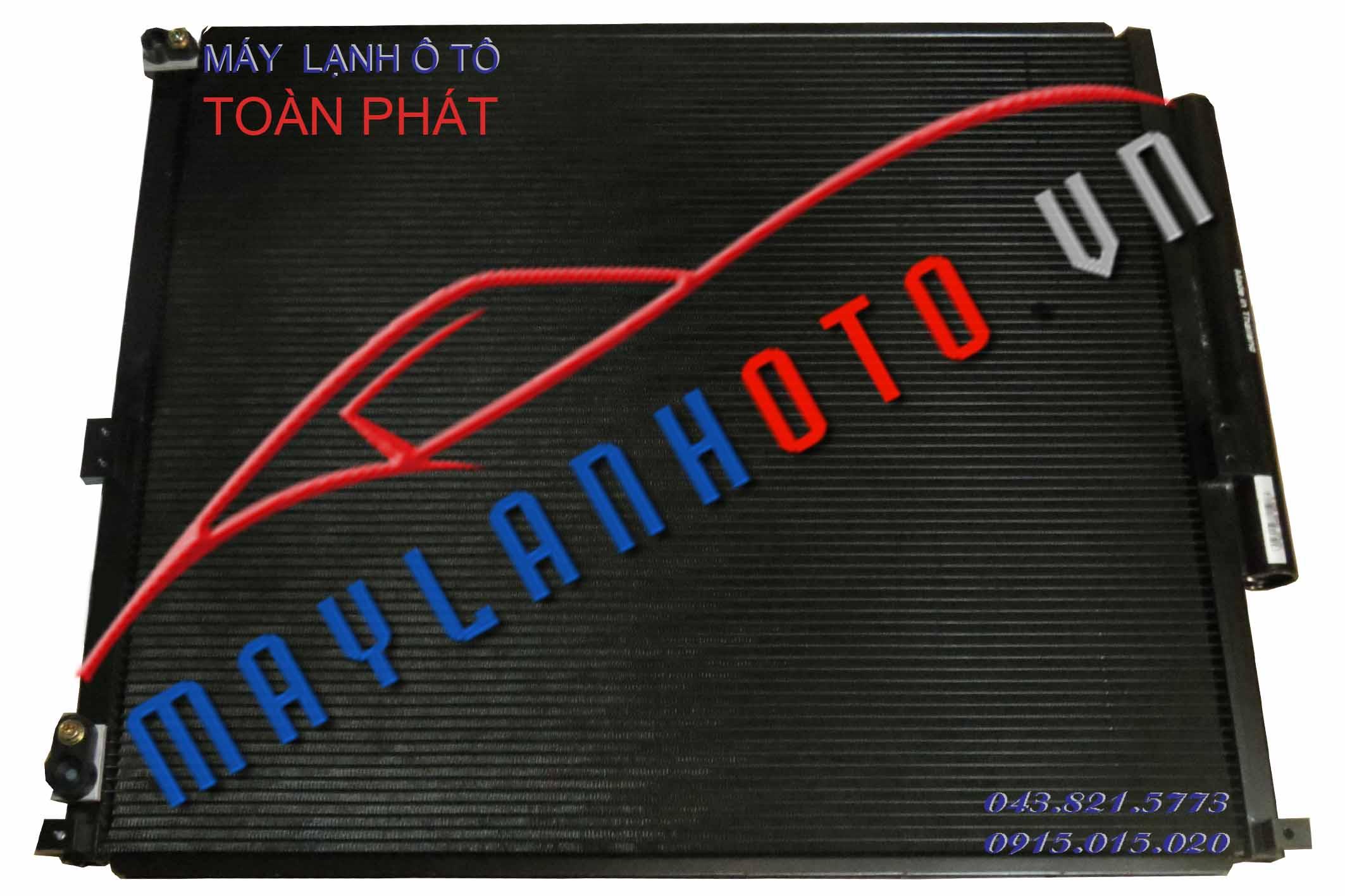 Land Cruiser Prado 2008 / Giàn nóng điều hòa Toyota LandCruiser Prado 2008