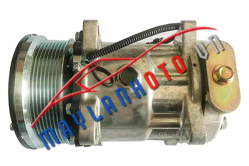 Howo A7 máy điện / Lốc lạnh điều hòa Howo A7 máy điện / Máy nén khí điều hòa Howo A7 máy điện